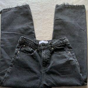 Zara black kids pants